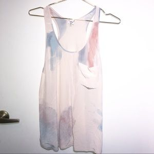 Wilfred Silk Watercolor Tank Small